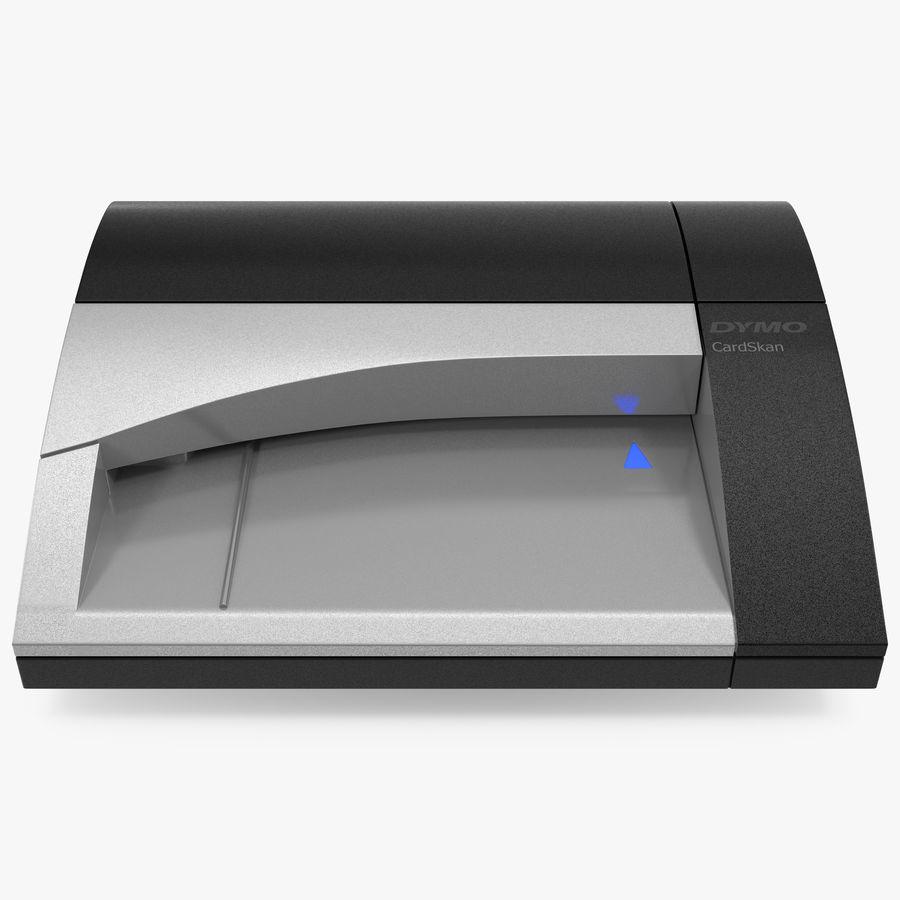 Scanner de cartões Dymo Cardscan Executive 3D Model royalty-free 3d model - Preview no. 1