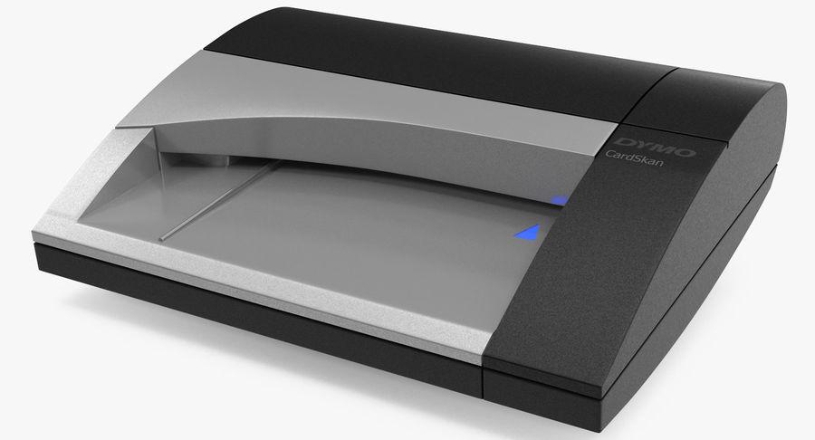 Scanner de cartões Dymo Cardscan Executive 3D Model royalty-free 3d model - Preview no. 4