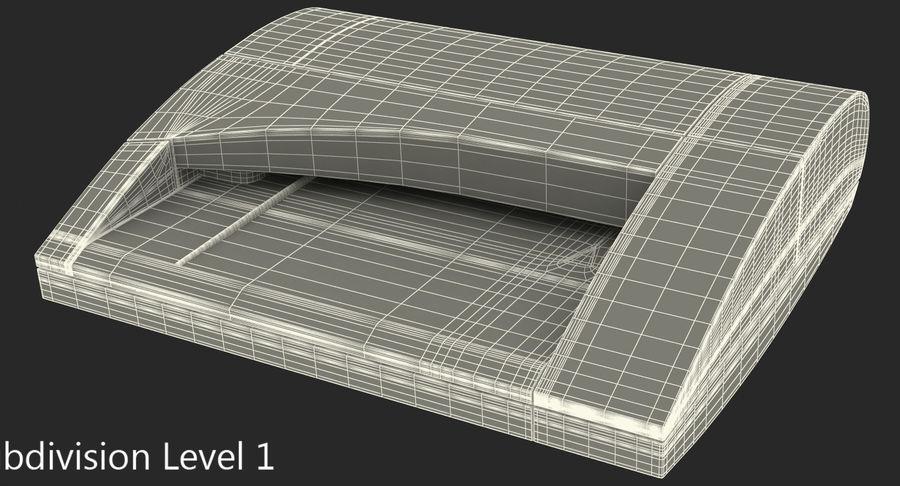 Scanner de cartões Dymo Cardscan Executive 3D Model royalty-free 3d model - Preview no. 10