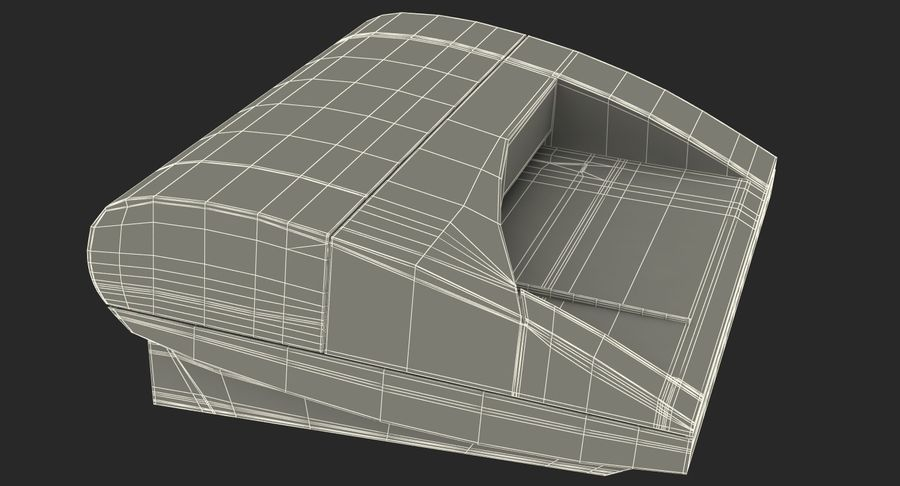 Scanner de cartões Dymo Cardscan Executive 3D Model royalty-free 3d model - Preview no. 16