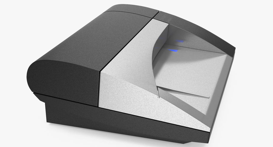 Scanner de cartões Dymo Cardscan Executive 3D Model royalty-free 3d model - Preview no. 5