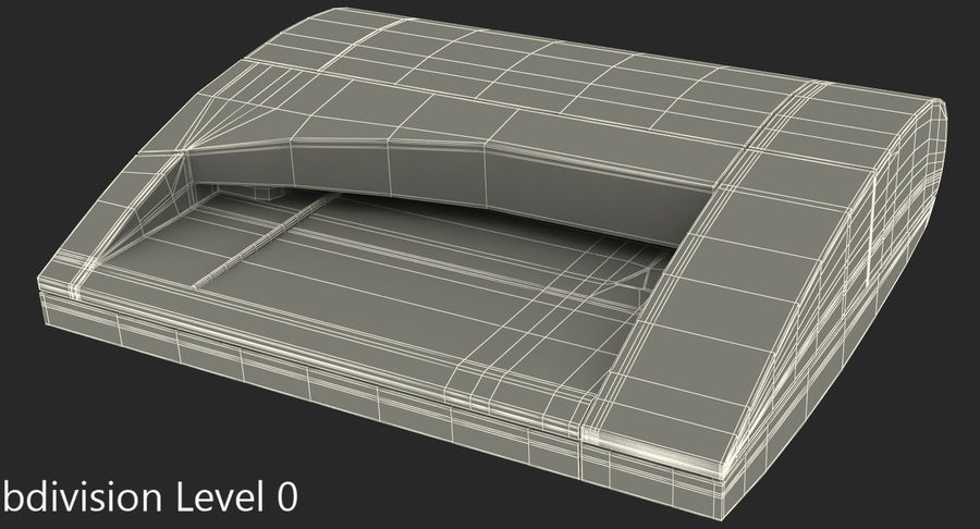 Scanner de cartões Dymo Cardscan Executive 3D Model royalty-free 3d model - Preview no. 9