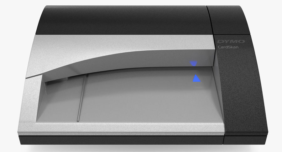 Scanner de cartões Dymo Cardscan Executive 3D Model royalty-free 3d model - Preview no. 2