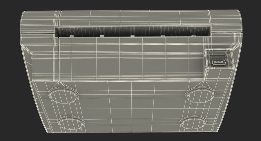 Scanner de cartões Dymo Cardscan Executive 3D Model royalty-free 3d model - Preview no. 17