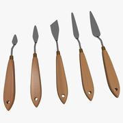 Palettknivsats 3d model