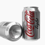Lattina di luce Coca-Cola 3d model