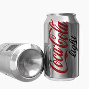Coca-Cola Light Can 3d model