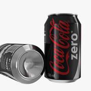 Coca-Cola Zero Can 3d model