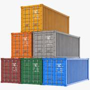 运输集装箱 3d model