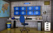 Surveillance Room 3d model