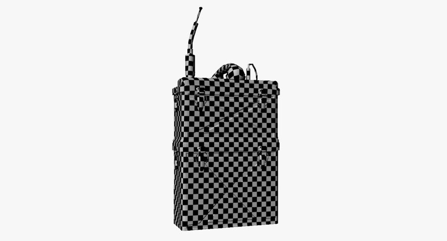 Military Radio Station royalty-free 3d model - Preview no. 21