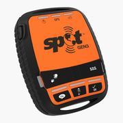 Satellite GPS Messenger and Tracking Spot Gen3 3d model