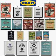 IKEA-bilder - Edelvik 3d model
