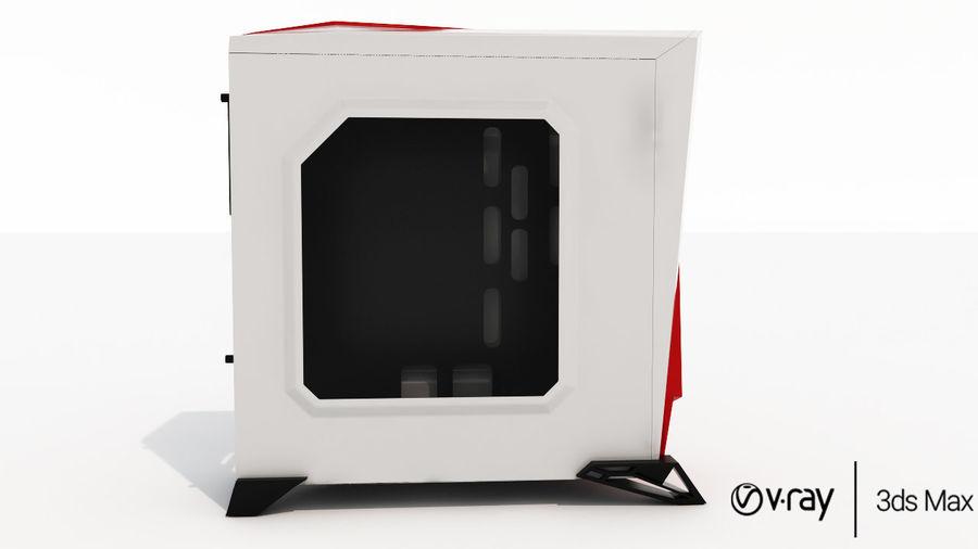 PC-fall Corsair royalty-free 3d model - Preview no. 3