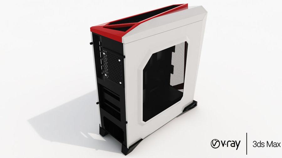 PC-fall Corsair royalty-free 3d model - Preview no. 4