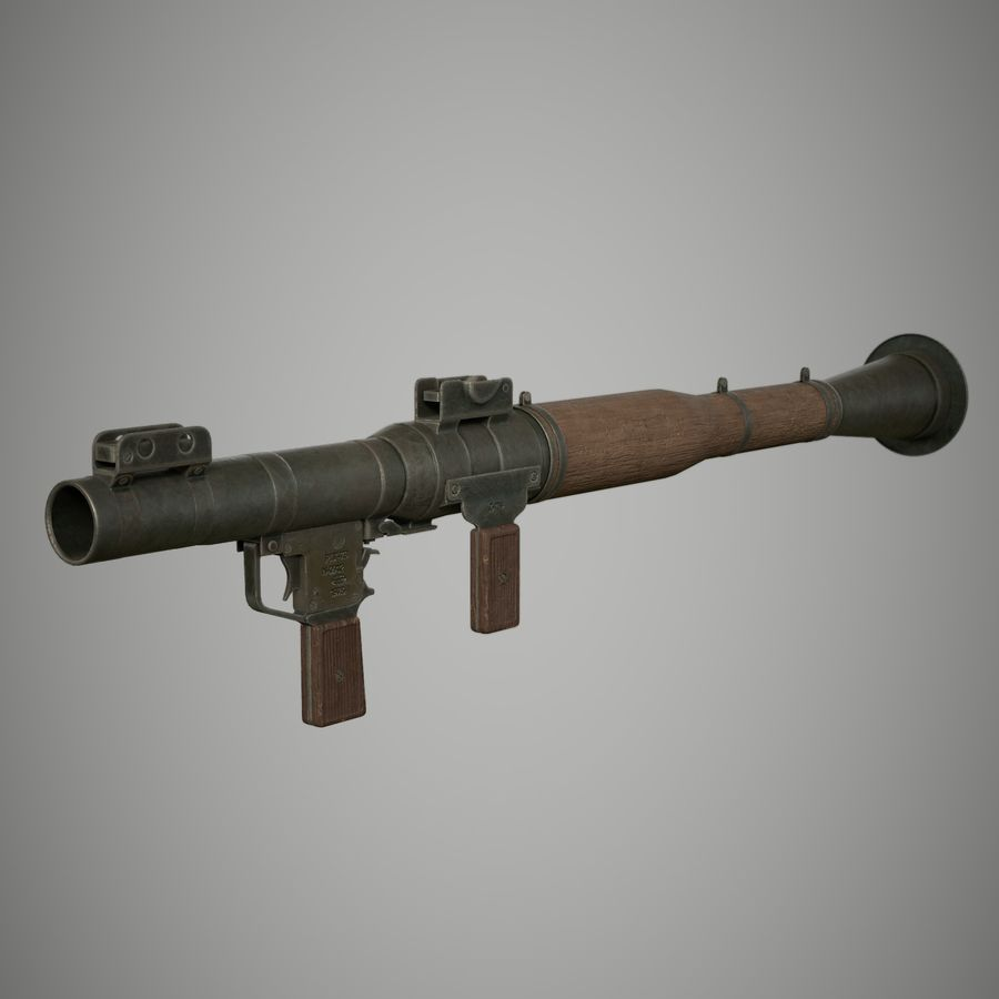 RPG 7 royalty-free 3d model - Preview no. 10