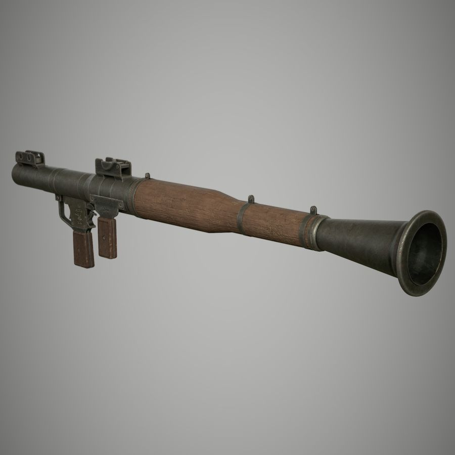 RPG 7 royalty-free 3d model - Preview no. 11