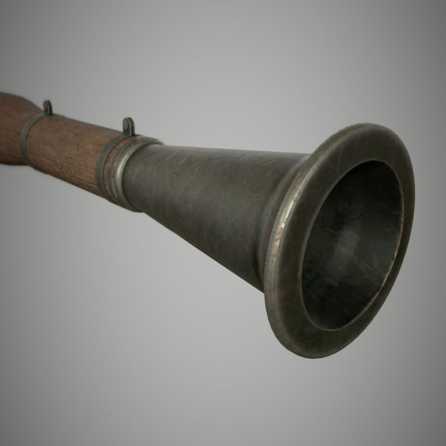 RPG 7 royalty-free 3d model - Preview no. 9