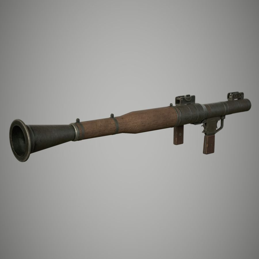 RPG 7 royalty-free 3d model - Preview no. 12