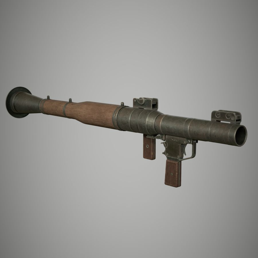 RPG 7 royalty-free 3d model - Preview no. 13