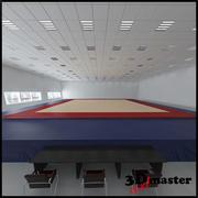 Konstnärligt gymnastiska golv 3d model