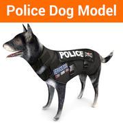 owczarek niemiecki policyjny 3d model