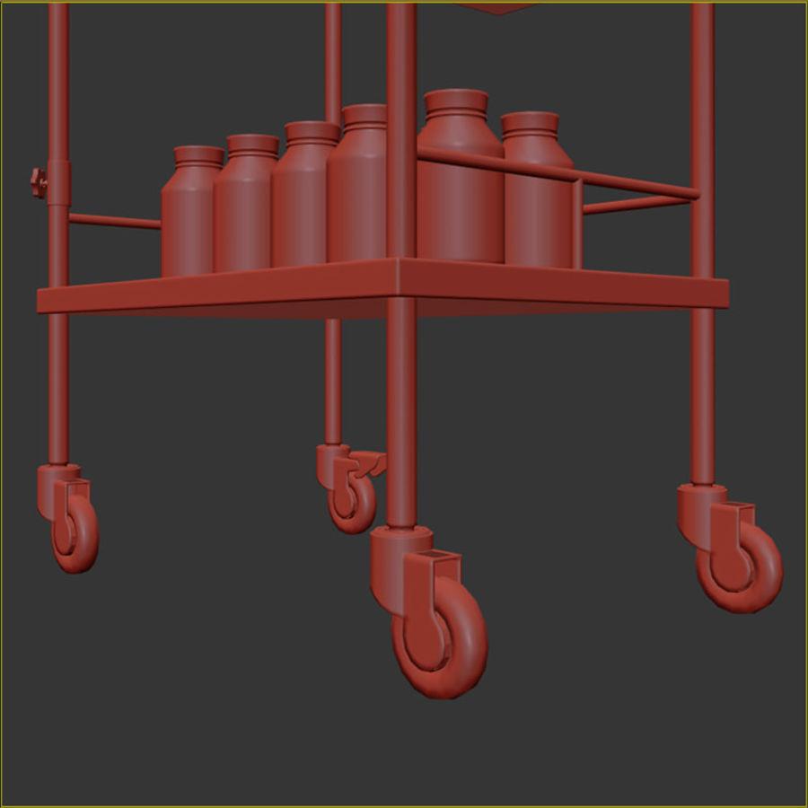 Medical Cart royalty-free 3d model - Preview no. 19
