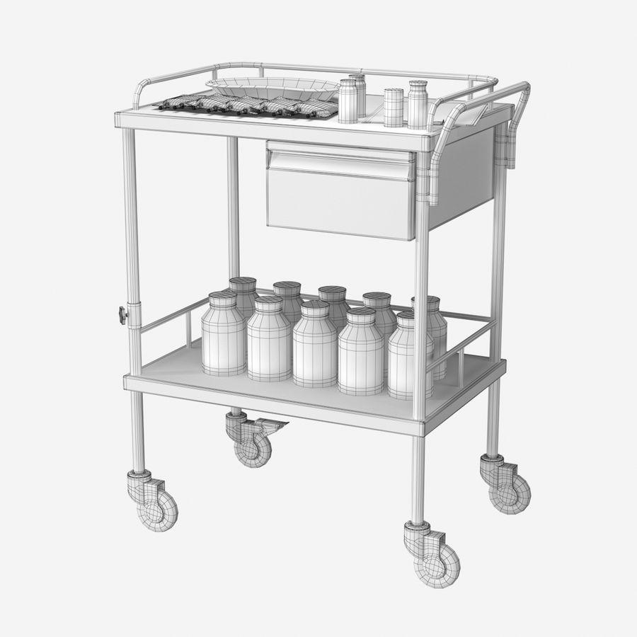 Medical Cart royalty-free 3d model - Preview no. 9