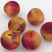 Nettarina Di Frutta 3d model