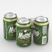 Beer Can Mythos 330ml 3d model