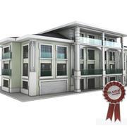 Budynek mieszkalny rezydencji 3d model