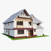 Casa da familia 3d model