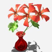 Geranium flower 3d model