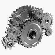 歯車機械 3d model