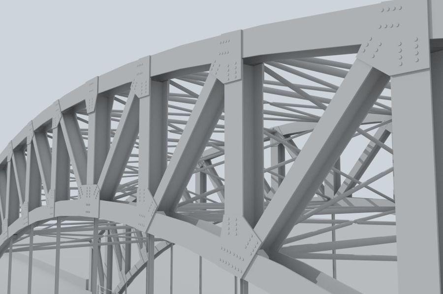 Road bridge royalty-free 3d model - Preview no. 8