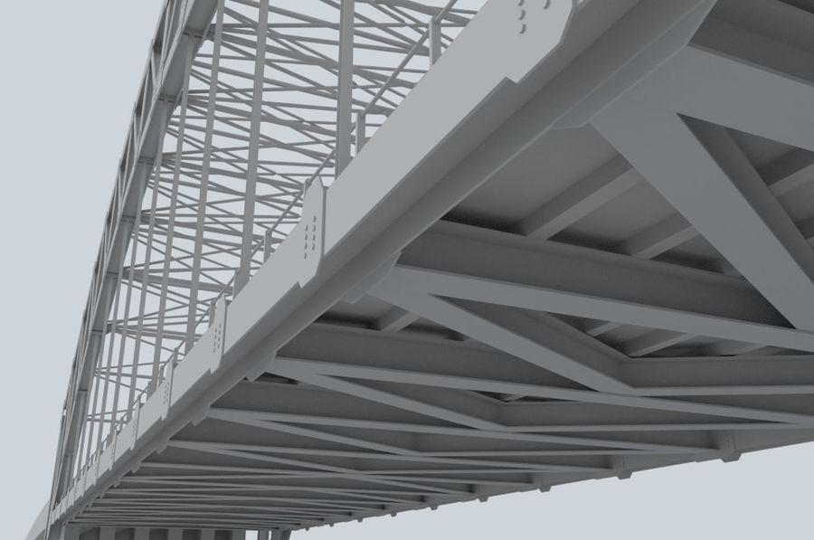 Road bridge royalty-free 3d model - Preview no. 7