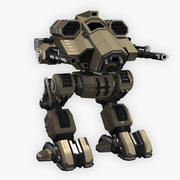 Battle Mech Coyote modelo 3d