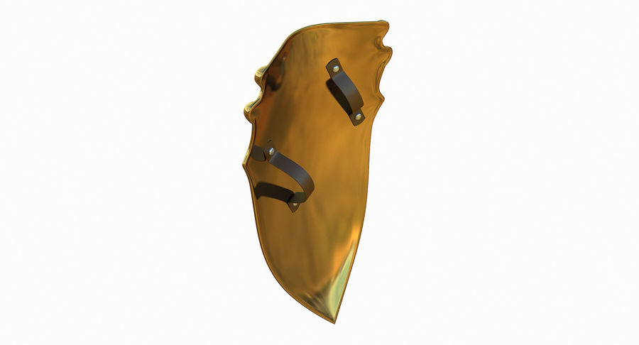 Kite Shield A royalty-free 3d model - Preview no. 6