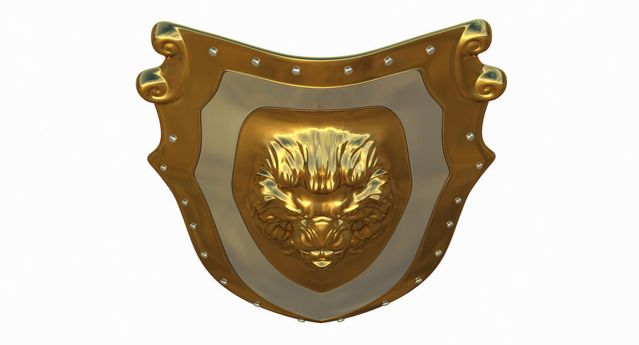 Kite Shield A royalty-free 3d model - Preview no. 12