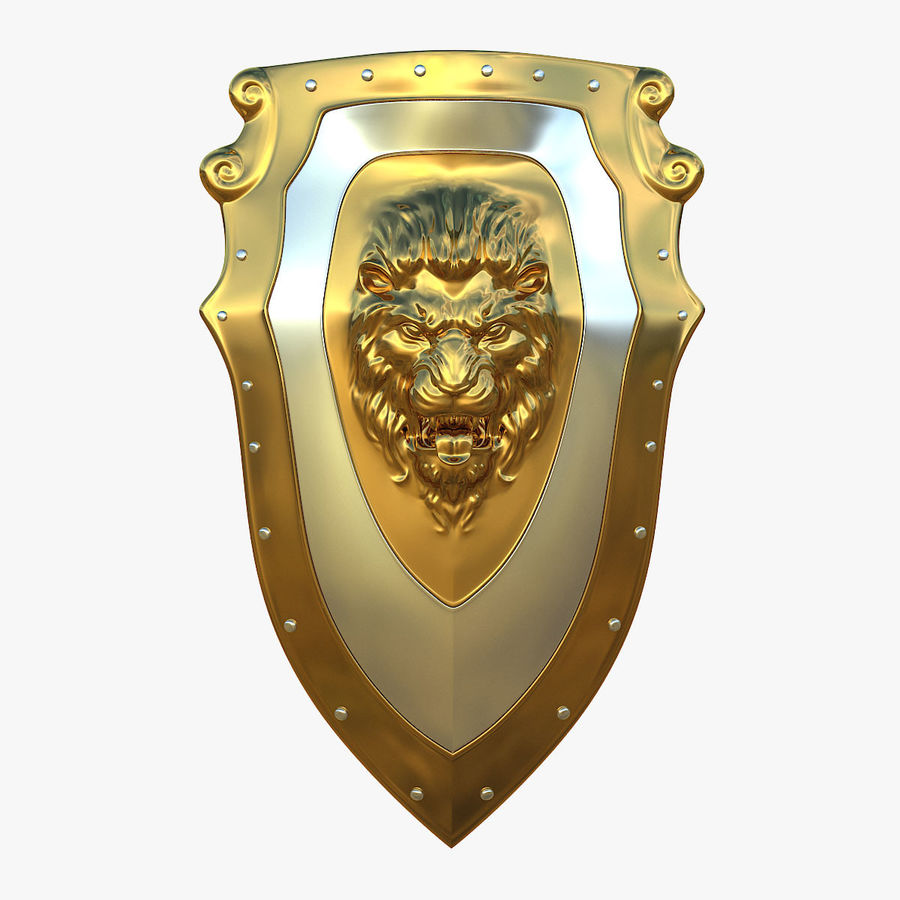 Kite Shield A royalty-free 3d model - Preview no. 1