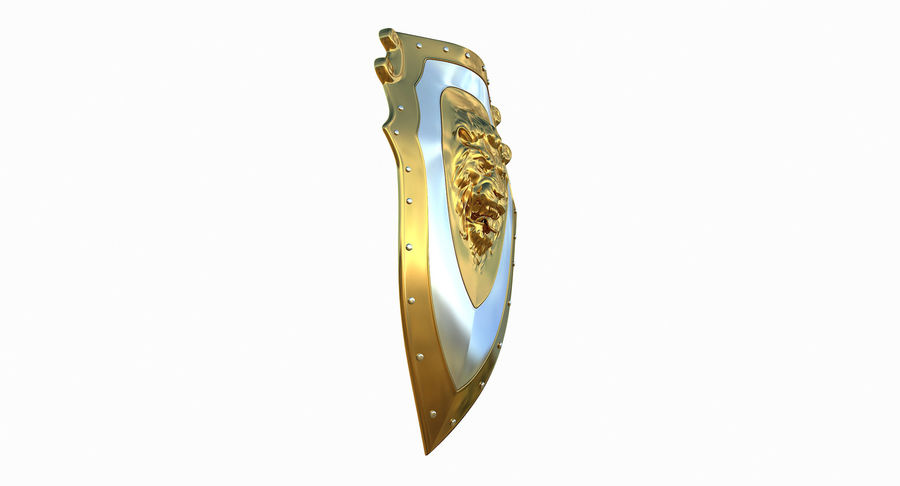 Kite Shield A royalty-free 3d model - Preview no. 10