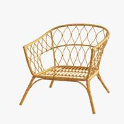 StockHolm 2017 IKEA rattan chair 3d model