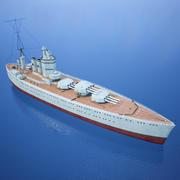 Battle Ship - 3d Model HMS Nelson (Royal Navy) 3d model