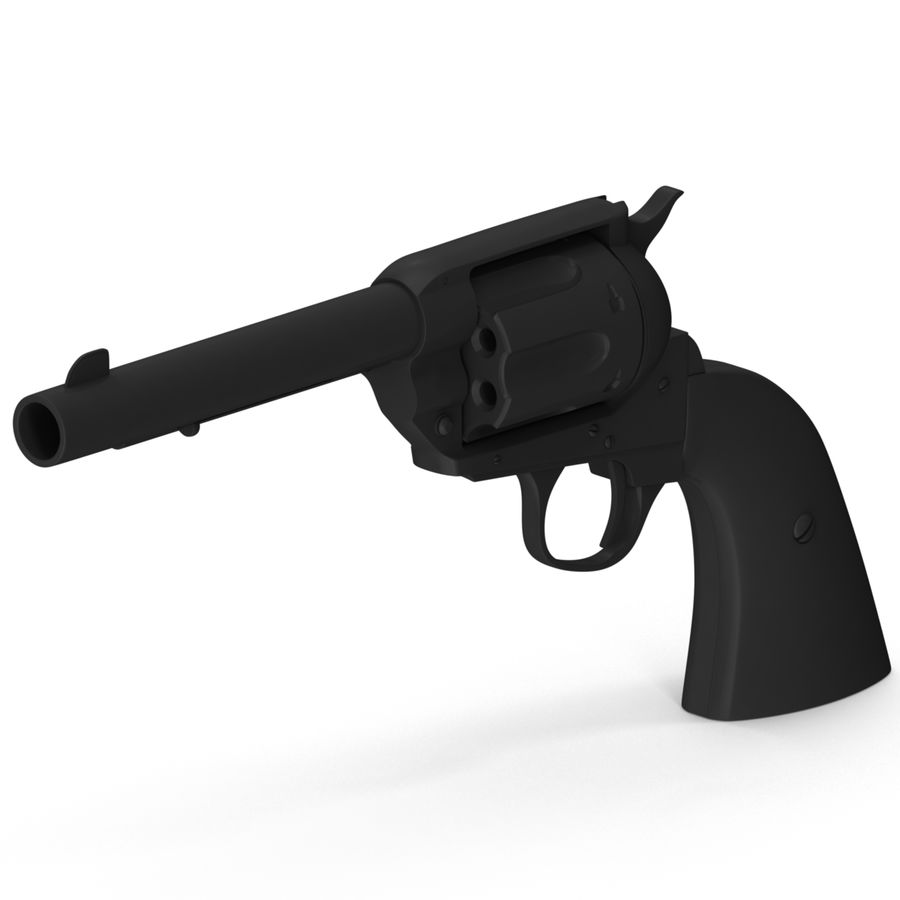 Colt Peacemaker royalty-free 3d model - Preview no. 1