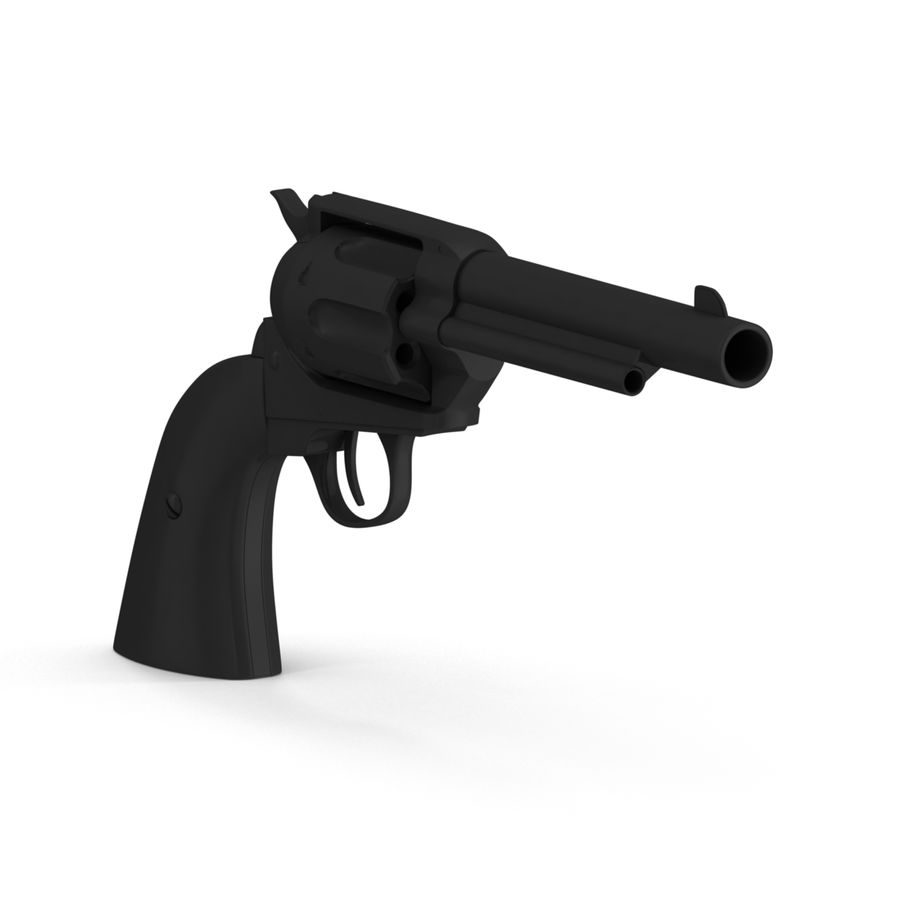 Colt Peacemaker royalty-free 3d model - Preview no. 4
