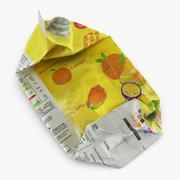 Müll Saft Karton 3d model