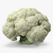 Fresh Cauliflower Cabbage Vegetable 3d model