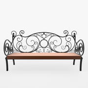 Bench Forged 3d model