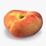 Donut Peach 3D 모델 3d model