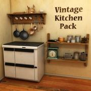 Vintage Kitchen Pack 3d model